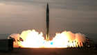 تجربة لصاروخ إيراني