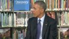 بالفيديو.. طفل في الصف السادس يقاطع باراك أوباما