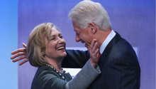بيل وهيلاري كلنتون، نيويورك 22 سبتمبر/ أيلول 2014
