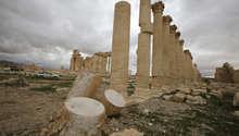 """المرصد السوري: داعش دمر أجزاء من معبد """"بل"""" في تدمر"""
