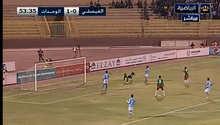 """بالفيديو.. أغرب أهداف الدوري الأردني """"هدية"""" من حارس الفيصلي للوحدات"""