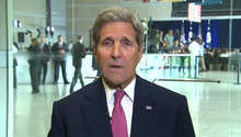 كيري لـCNN: اجتماعات ثلاثية مع السعودية وروسيا حول سوريا