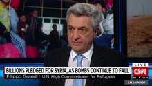 المفوض السامي بالأمم المتحدة لشؤون اللاجئين لـCNN: أؤكد أن الحل السياسي بسوريا هو الوحيد