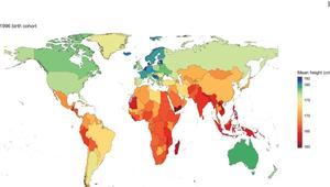 كيف تغيرت أطوال البشر حول العالم خلال 100 عام؟ وأين يعيش أطول الرجال والنساء؟ وأقصرهم؟