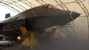 هذه مقاتلة F-35 بمدفع رشاش يطلق 55 طلقة بالثانية