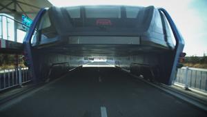 الباص عُد جزءاً من خطة تجريبية للتخفيف من الاختناق المروري