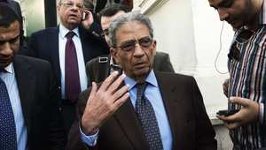 عمرو موسى ينفي قيامه بوساطة بين الدولة والإخوان المسلمين