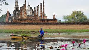 بالصور.. تماثيل بوذا أثرية تشهد على مملكة سوكوتاي المندثر