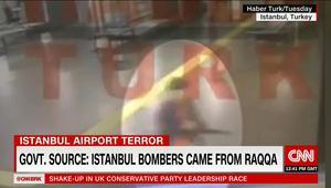 """مسؤول تركي لـCNN: منفذو هجوم مطار أتاتورك جاءوا من الرقة بسوريا وقيادة """"داعش"""" متورطة بالعملية"""