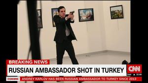 الداخلية التركية: منفذ الهجوم على السفير الروسي شرطي