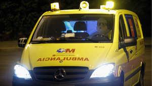نقل المشتبه فيهم إلى مستشفى كارلوس الثالث