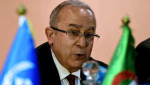 وزير الشؤون الخارجية الجزائري رمطان لعمامرة