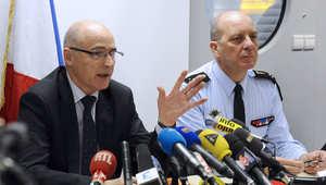 المدعي العام في مرسيليا الفرنسية برايس روبن، يتحدث في مؤتمر صحفي حول التحقيقات بشأن سقوط الطائرة الألمانية 26 مارس/ آذار 2015
