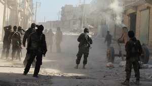 المرصد: معارك عنيفة حول مطار الطبقة بسوريا ومقتل 15 عنصرا بداعش وجرح 150