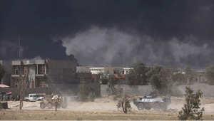 قوات موالية للحكومة العراقية خلال معركة تحرير مصفاة بيجي ، 15 أبريل/ نيسان 2015
