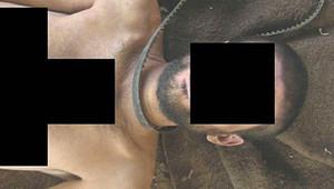حزام يزعم أنه استخدم في خنق أحد الضحايا