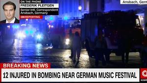 تفجير انتحاري يهز مدينة أسبانخ الألمانية.. ووزير الداخلية: سوري رُفض دخوله حفلا موسيقيا وراء الهجوم