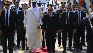 بالصور.. السيسي يستقبل الزعماء العرب في قمة شرم الشيخ