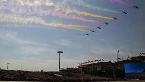 احتفالات الصين بالذكرى الـ70 لعيد النصر