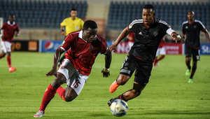 لقطات من مباراة الإياب في نصف نهائي كأس إفريقيا لكرة القدم بين الاهلي المصري وأورلاندو بايرتس من جنوب أفريقيا