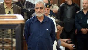 محكمة مصرية تقضي بإعدام 4 والمؤبد لبديع والشاطر بقضية