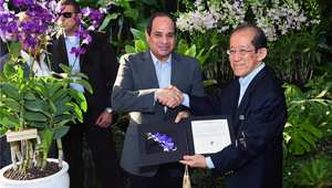 سنغافورة تهدي الرئيس المصري