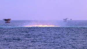 """السيطرة على تسرب للغاز من حقل """"فتح"""" البحري في مياه دبي الإقليمية"""