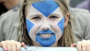طفلة اسكوتلندية