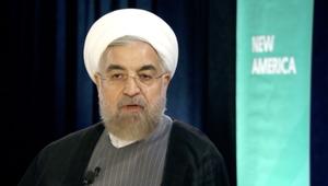 الرئيس الإيراني لـ CNN : لا أعرف تفاصيل قضية أغنية