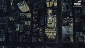 مشاهد مذهلة لمدينة نيويورك من السماء