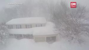 الثلوج تشل أمريكا.. مشاهد من الجو