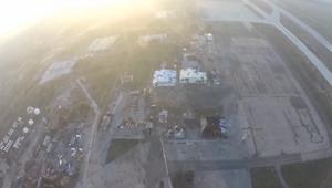 كيف يبدو الدمار الذي حل بمطار دونيتسك من الجو؟