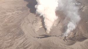 دخان وحمم بركانية على ارتفاع 1000 متر في الجو تعيق حركة الطائرات