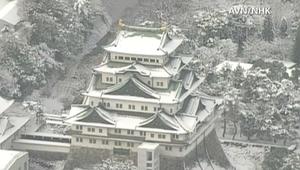 مشاهد مذهلة للثلوج في اليابان