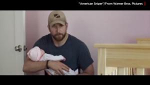 """رضيع في فيلم """"القناص الأمريكي"""" يحول مشهدا جدّيا إلى موضع سخرية"""