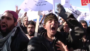 احتجاجات الأفغان على رسوم
