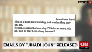 """نشر رسائل إلكترونية نسبت إلى """"الجهادي جون"""""""