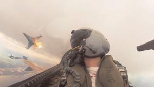 شاهد نفسك كأنك تقود F-16 إسرائيلية