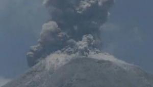 ثوران مفاجئ  لبركان هائل في المكسيك