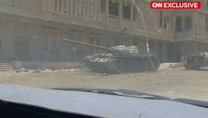 دبابة في اليمن