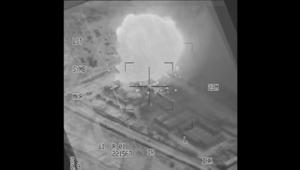 قصف مواقع للحوثيين