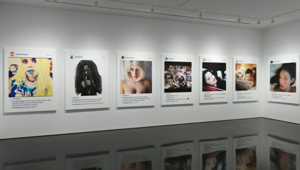 بالفيديو..معرض فني لصور من