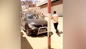 """بفيديو مصور.. آخر دقائق من حياة منفذ """"هجوم تونس"""""""