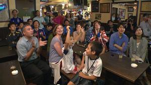 شاهد: نهائي كأس العالم للسيدات بعيون عائلة يابانية - أمريكية