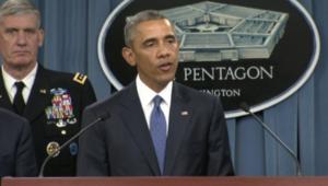 أوباما يراجع في البنتاغون استراتيجية حرب