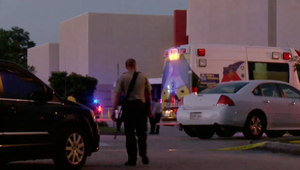 المشاهد الأولية لحادثة إطلاق النار في سينما في لويزيانا