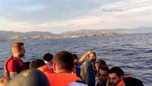 حصريا: من داخل رحلة مهاجر سوري إلى الحرية