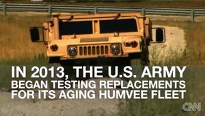 بالفيديو.. هل انقرضت عربات الهمفي العسكرية؟