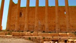 رئيس الآثار بسوريا: أعمدة المعبد بل لا تزال قائمة