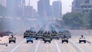 بالفيديو.. عرض عسكري صيني هائل